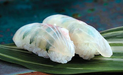 タイ の 昆布 締め
